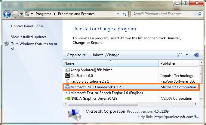 download microsoft .net framework 4.5