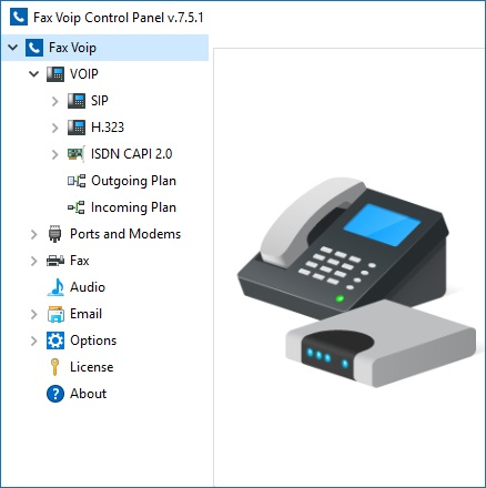 voice ip fax machine